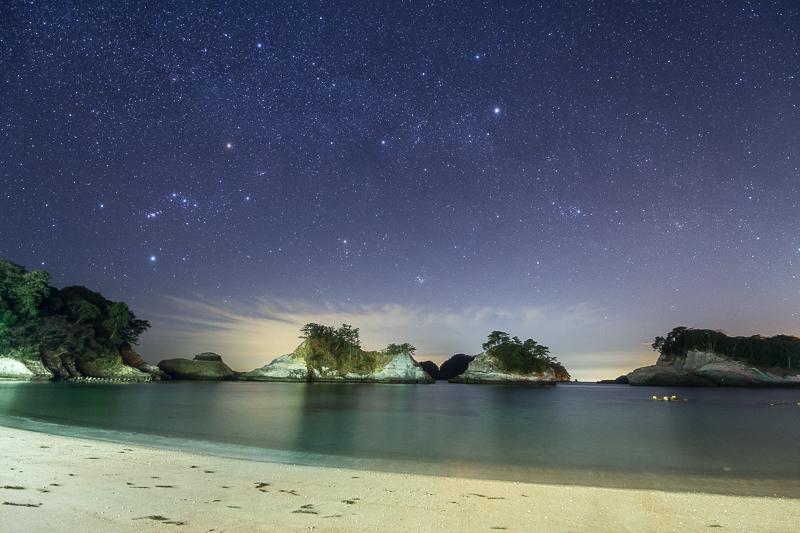 乗浜海岸に沈む冬の天の川B.jpg