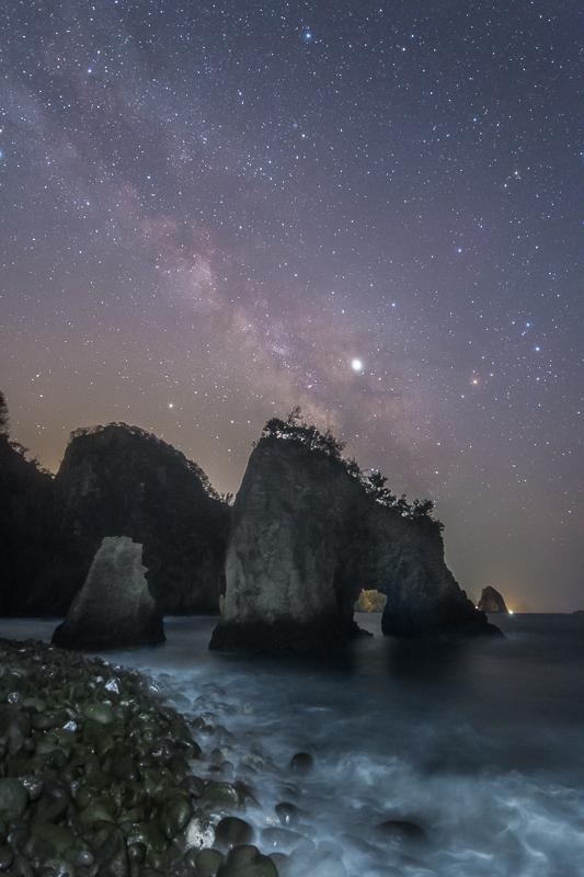 夜明け前の天の川B.jpg