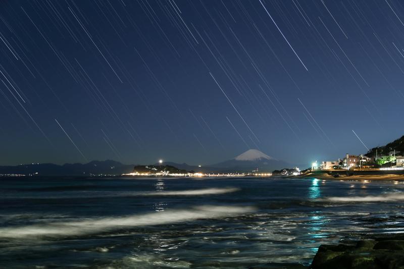 富士と星空~稲村ケ崎にてB.jpg